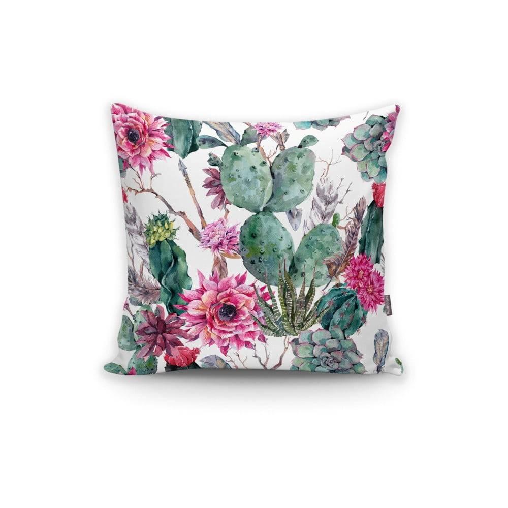 Minimalist Cushion Covers Obliečka na vankúš Minimalist Cushion Covers Cactus And Roses, 45×45 cm
