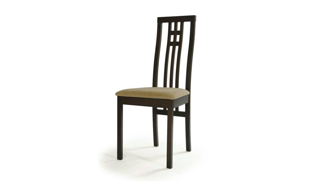 Sconto Jedálenská stolička AMANDA orech/béžová